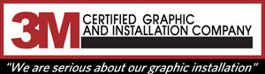 3M Certified Graphic and Installation Company